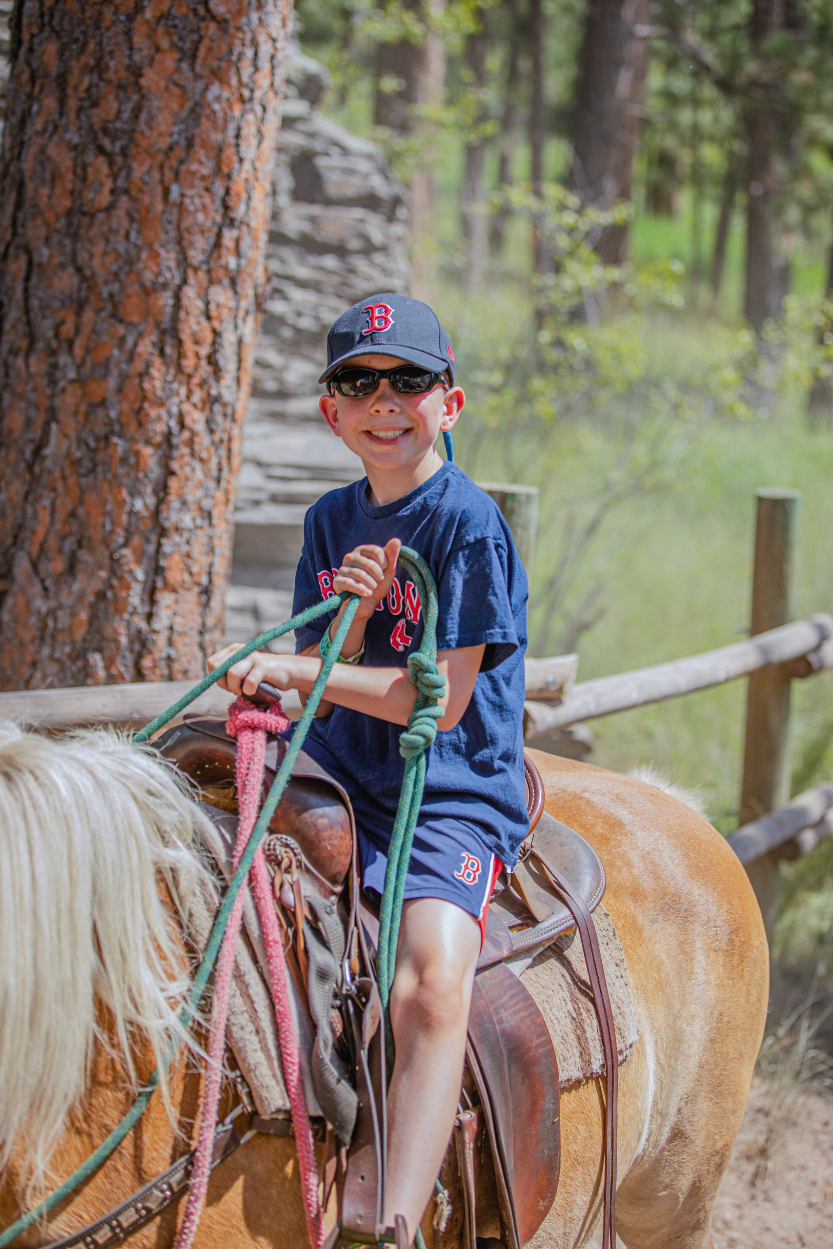 Nate horseback riding (photo credit: How I See It Photography)