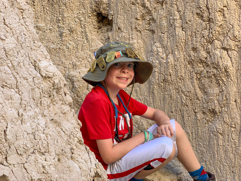 Hiker Nate
