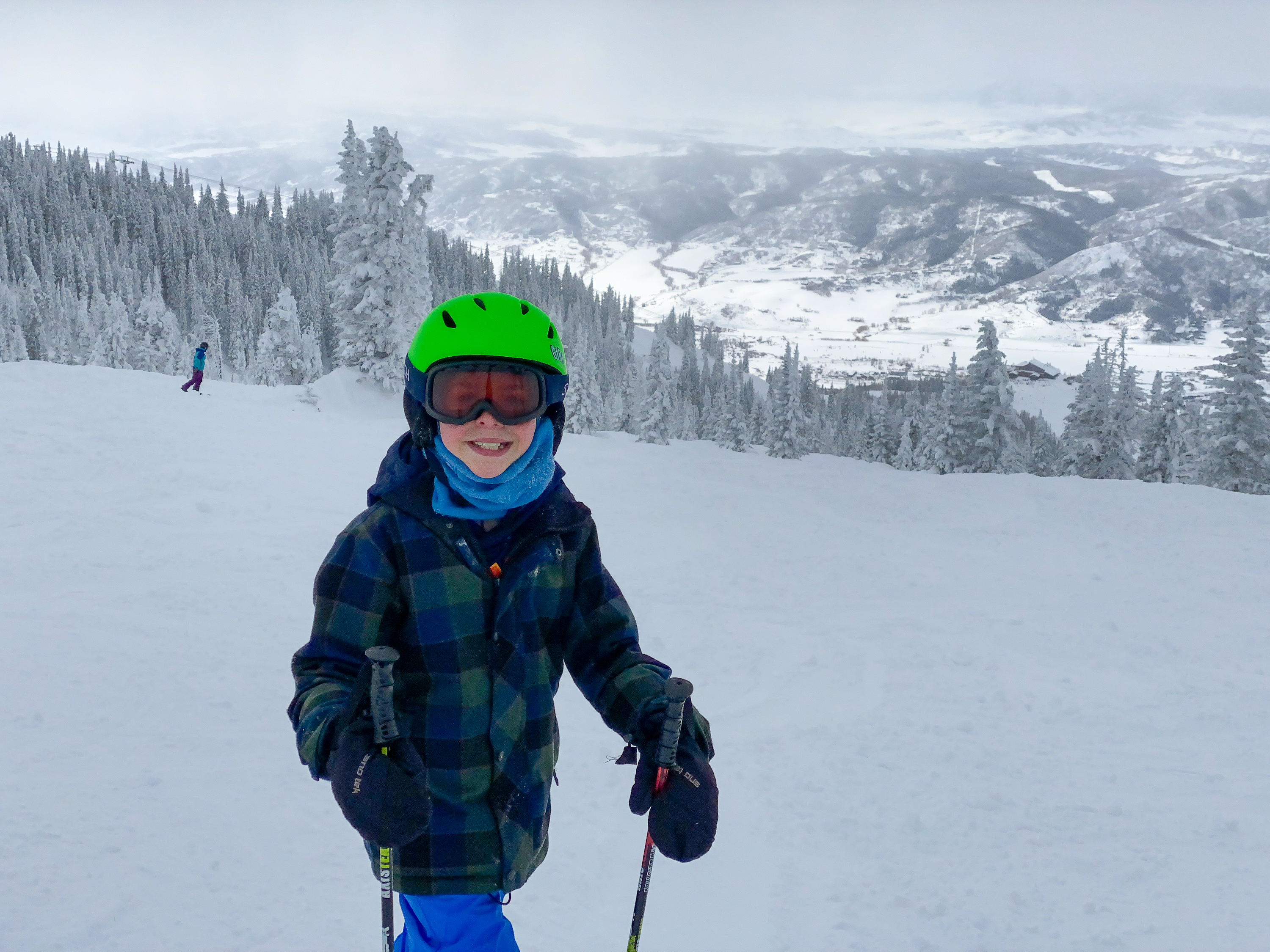 Skiing at Steamboat